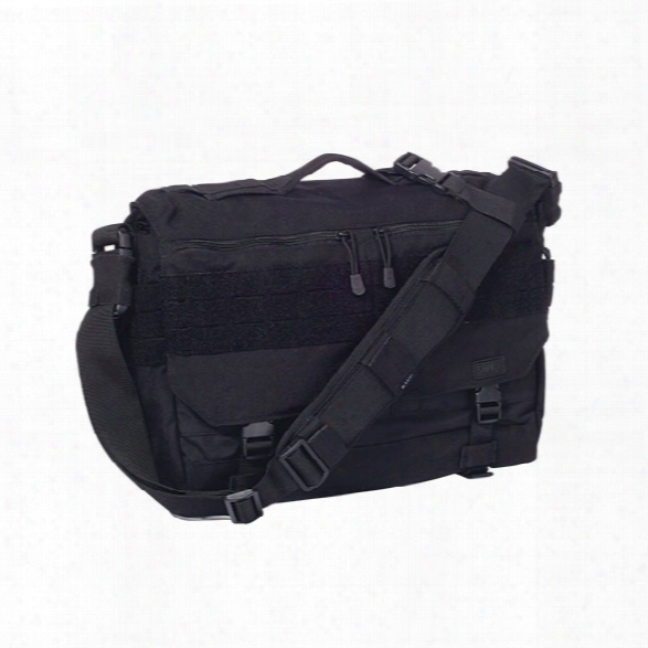 5.11 Tactical Rush Delivery Lima Messenger Bags, Black - Black - Male - Excluded