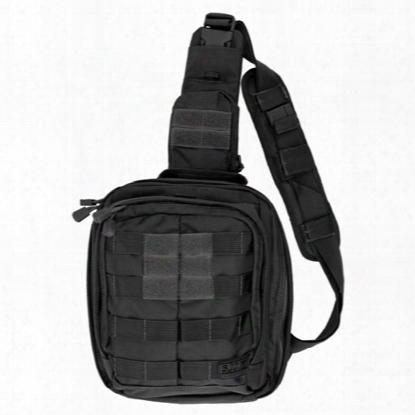 5.11 Tactical Rush Moab6 Bag, Black - Black - Male - Excluded