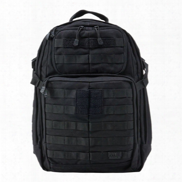 5.11 Tactical Rush24 Backpack, Black - Black - Male - Excluded