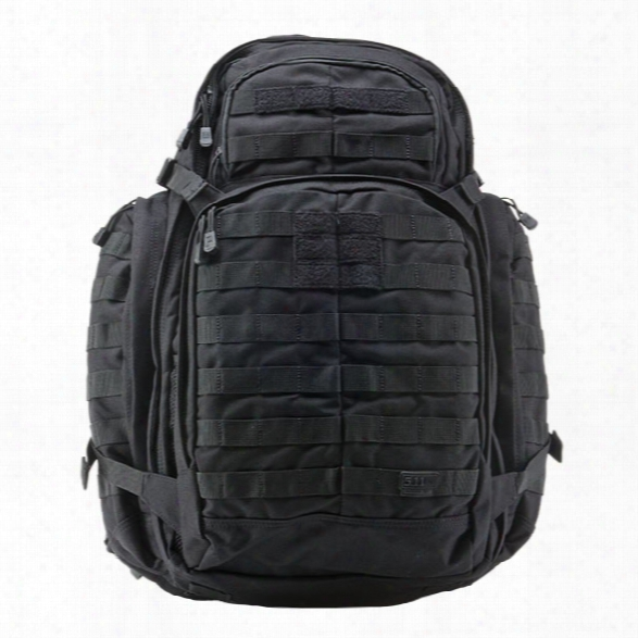 5.11 Tactical Rush72 Backpack, Black - Black - Male - Excluded