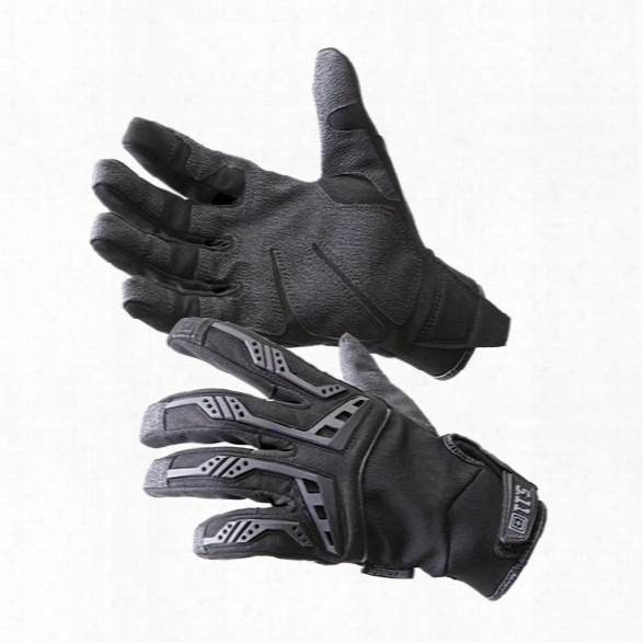 5.11 Tactical Scene One Gloves, Black, Sm - Black - Male - Excluded