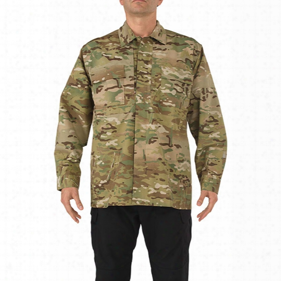 5.11 Tactical Shirt Tdu L/s Multicam 2xlarge - Camouflage - Male - Excluded