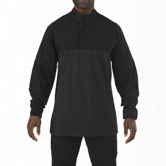 5.11 Tactical Stryke Tdu Rapid Long Sleeve Shirt, Black, 2x-large - Black - Male - Excluded