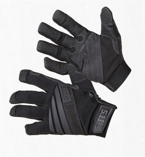 5.11 Tactical Tac K9 Dog Handler Glove, Black, 2x - Black - Male - Excluded