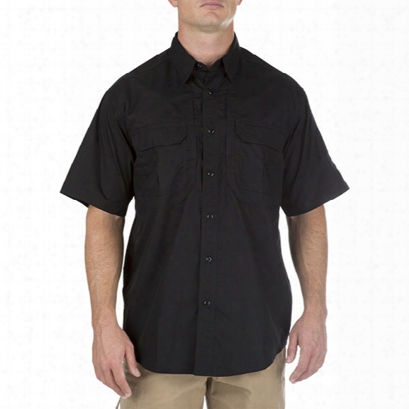5.11 Tactical Taclite Pro Ss Shirt, Black, 2xl - Black - Male - Excluded