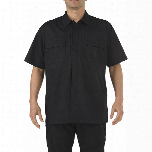5.11 Tactical Taclite Tdu Ss Shirt, Black, 2x-large - Black - Male - Excluded