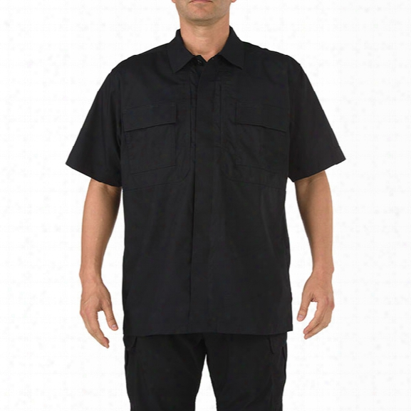 5.11 Tactical Taclite Tdu Ss Shirt, Black, 2x-large Tall - Black - Male - Excluded