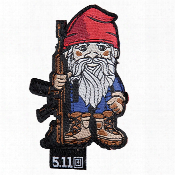 5.11 Tactical Tactical Gnome Patch, Range Red - Red - Unisex - Excluded