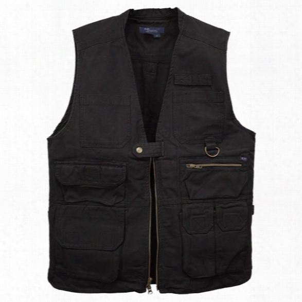 5.11 Tactical Tactical Vest, Black, 2xl - Black - Male - Excluded