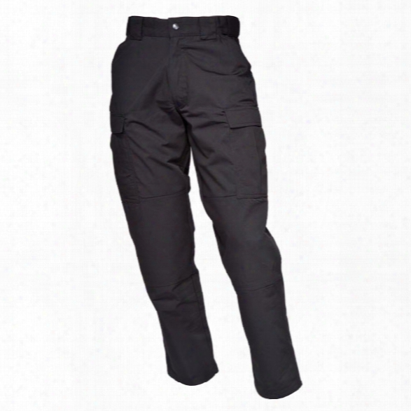 5.11 Tactical Tdu 65/35 Poly/cotton Ripstop Pants, Xx-large, Black, Long - Black - Male - Excluded