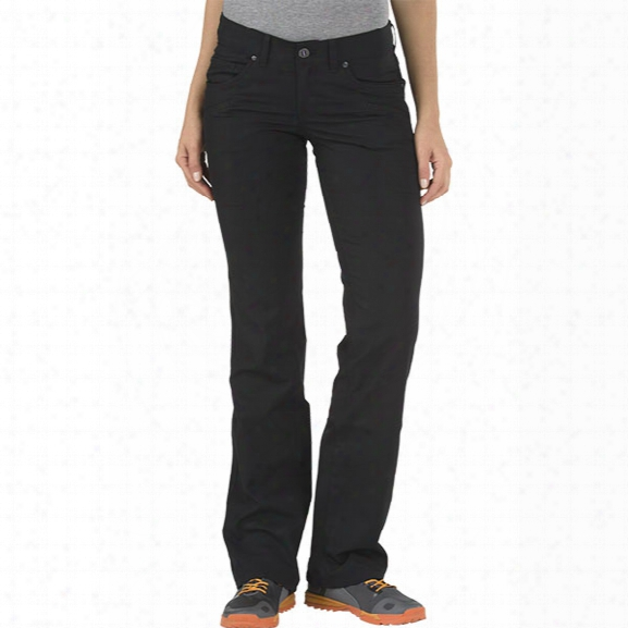 5.11 Tactical Womens Cirr Us Pant, Black, 10 Long - Black - Female - Excluded