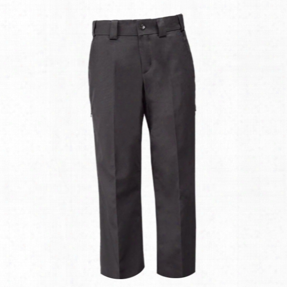 5.11 Tactical Womens Pdu Class A Twill Pants, Black, 10, Unhemmed - Black - Female - Excluded