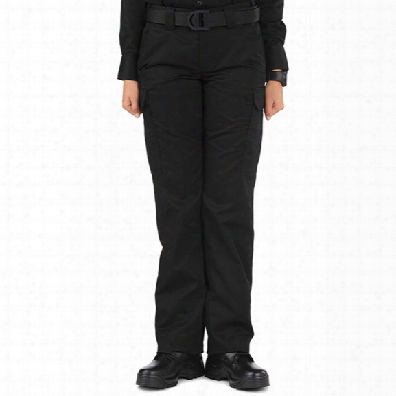 5.11 Tactical Womens Pdu Class B Twill Cargo Pants, Black, 10, Unhemmed - Black - Female - Excluded