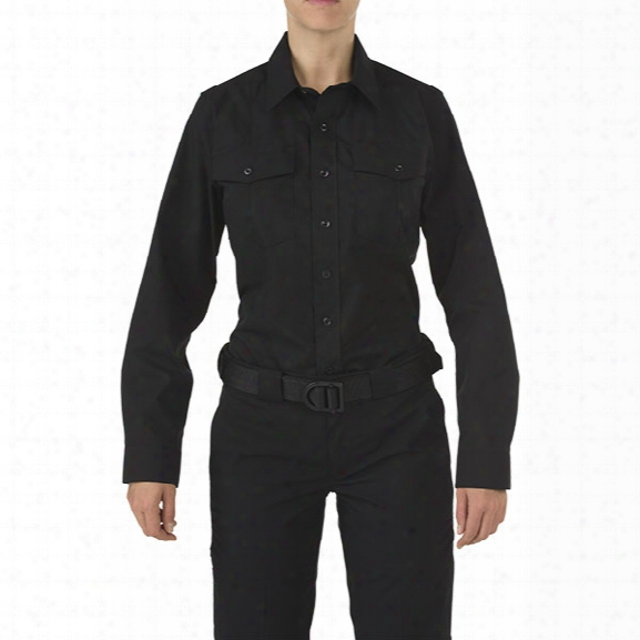 5.11 Tactical Women's Stryke Class-a Pdu Long Sleeve Shirt, Black, Large Tall - Black - Female - Excluded