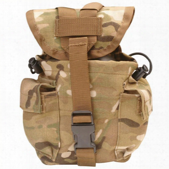 5ive Star Gear 1 Quart Canteen/utility Pouch, Multicam - Camouflage - Male - Included