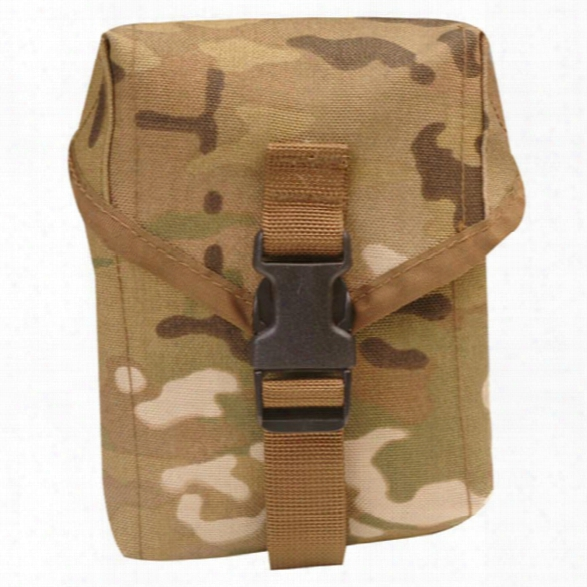 5ive Star Gear 100 Round Saw Pouch, Multicam - Camouflage - Male - Included