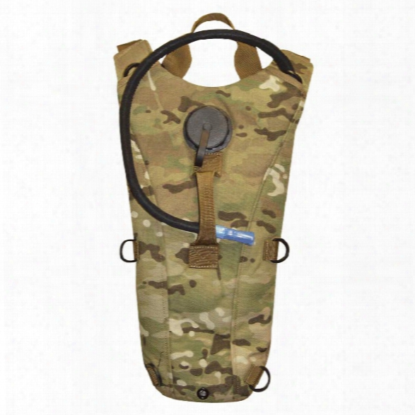 5ive Star Gear 2.5 Liter Hydration Backpack, Multicam - Camouflage - Male - Included