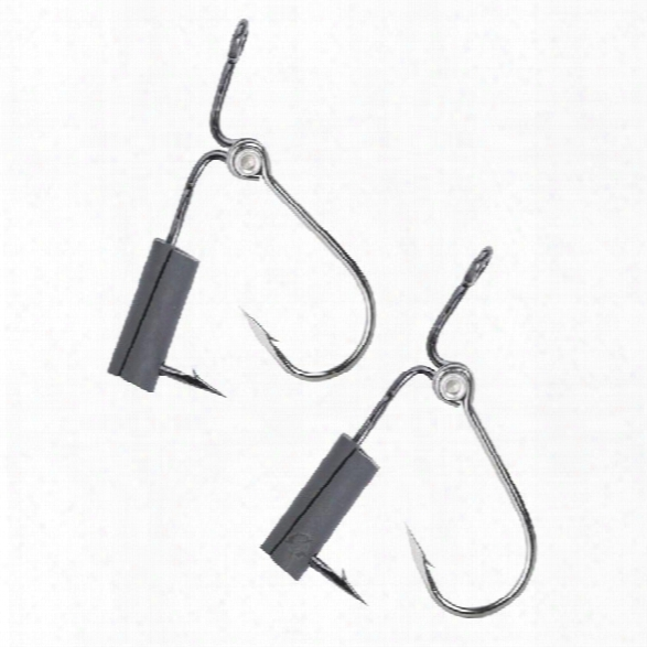 5ive Star Gear (2/pk) Fish Hooks - Black - Black - Unisex - Included