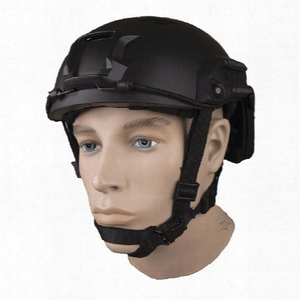 5ive Star Gear Advanced Base Jump Helmet, Black - Black - Male - Included