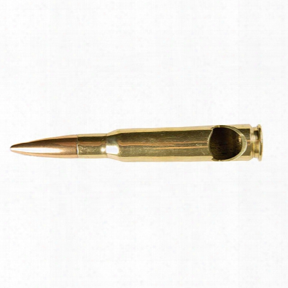 5ive Star Gear Bmg .50 Caliber Bottle Opener, Brass - Brass - Male - Included