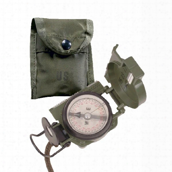 5ive Star Gear Cammenga Gi Lensatic Compass With Pouch - Od Green - Green - Male - Included