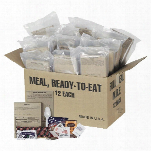 5ive Star Gear Emergency Field Ready Rations - Male - Included