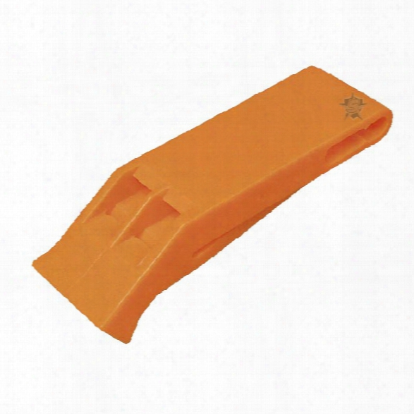 5ive Star Gear Emergency Whistle - Orange - Orange - Unisex - Included