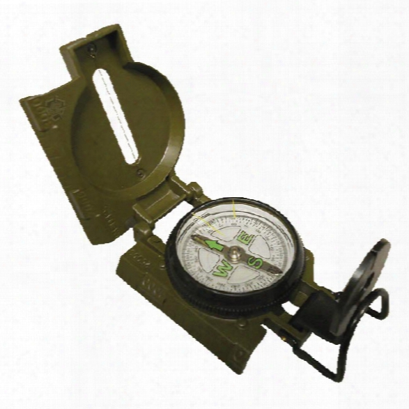 5ive Star Gear Gi Spec Lensatic Marching Compass - Od Rgeen - Green - Unisex - Included