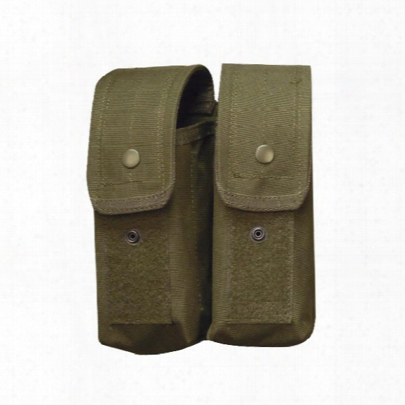 5ive Star Gear M4/ak-47 Double Mag Pouch, Ranger Green - Green - Male - Included