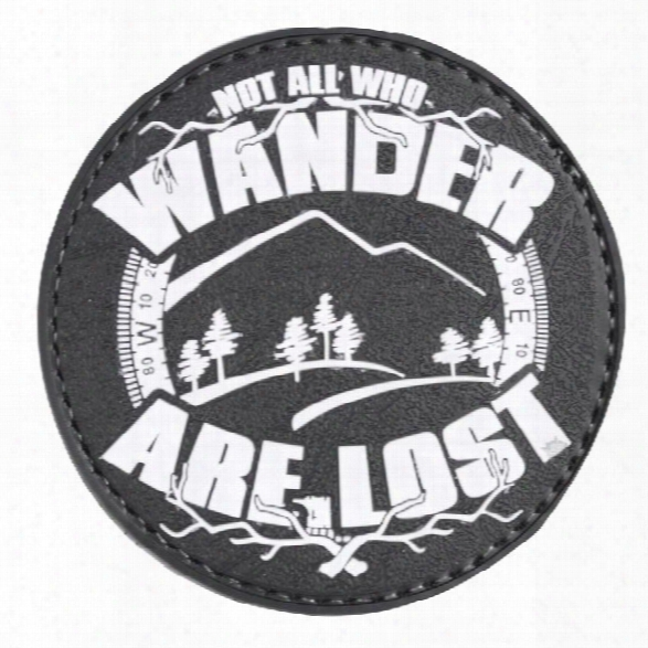 5ive Star Gear Morale Patch - All Who Wander - Nite Glow - Male - Included