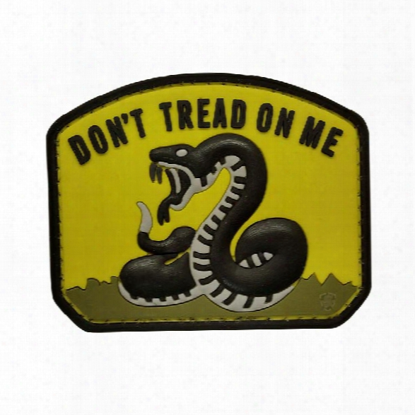 5ive Star Gear Morale Patch - Don't Tread On Me - Yellow - Yellow - Male - Included