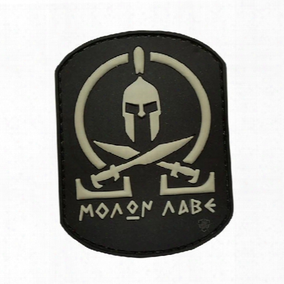 5ive Star Gear Morale Patch - Molon Labe - Black - Black - Male - Included