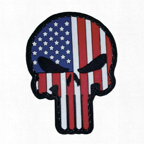 5ive Star Gear Morale Patch - Patriotic Punisher - Male - Included