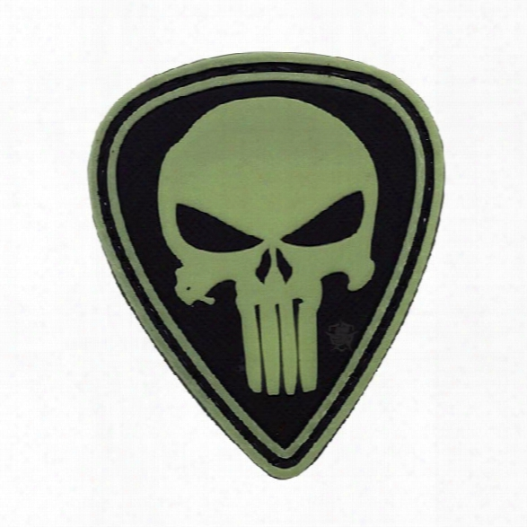 5ive Star Gear Morale Patch - Punisher Diamond - Nite Glow - Male - Included