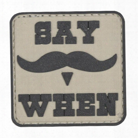5ive Star Gear Morale Patch - Say When - Male - Included