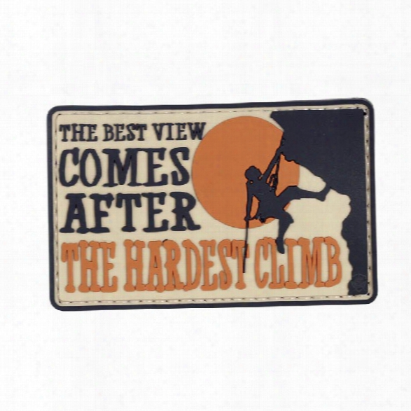 5ive Star Gear Morale Patch - The Hardest Climb - Male - Included
