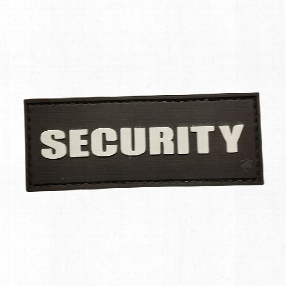 5ive Star Gear Public Preservation Patch - Security (white) - Black - Black - Male - Included