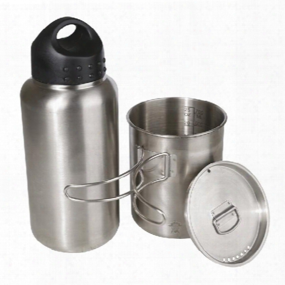 5ive Star Gear Pure Water Bottle Kit - Stainless Steel - Unisex - Included