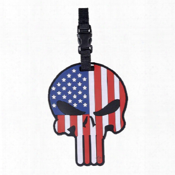 5ive Star Gear Pvc Luggage Tag - Patriotic Punisher - Unisex - Included