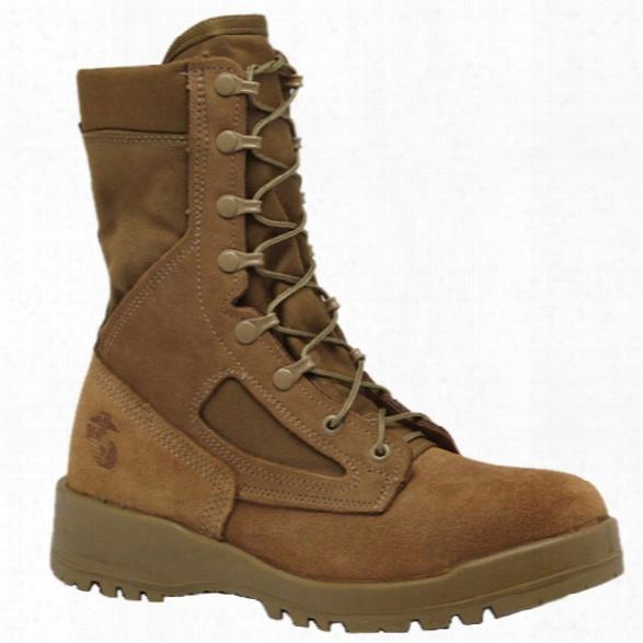 Belleville Usmc Hot Weather Combat Boot (ega), Olive, 10.5 Regular - Green - Male - Included