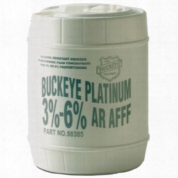 Buckeye Foam Firefighting Foam, Synthetic 3-6% Ar-afff, 5-gallon Pail - Male - Excluded