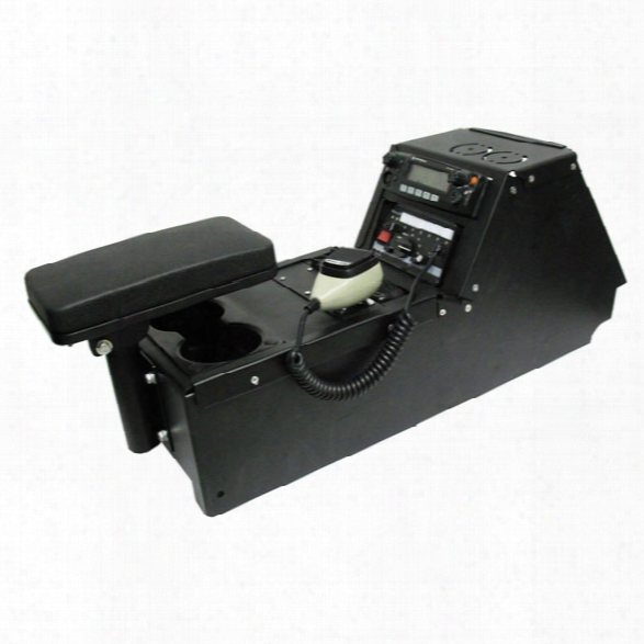 Gamber-johnson Console Box For Ford Interceptor 2013 - Black - Male - Included