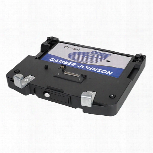 Gamber-johnson Docking Station For Panasonic Cf54 Toughbook With No Rf Pass-through - Black - Male - Included