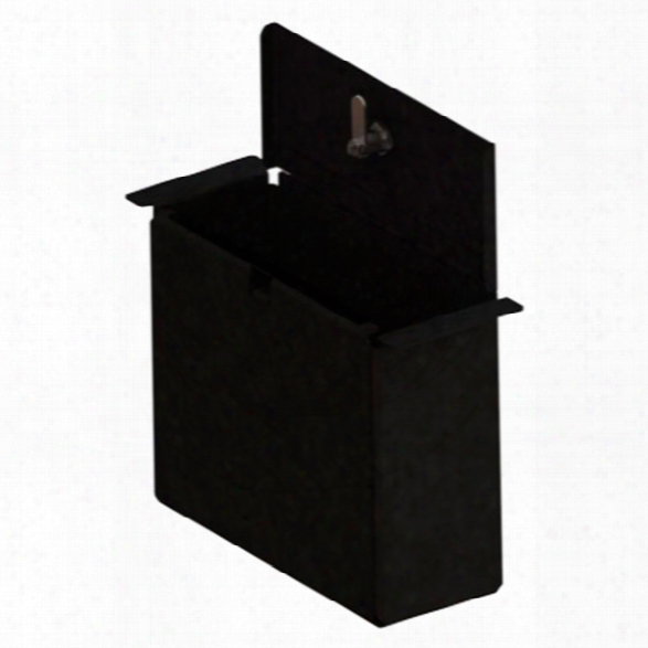 Gamber-johnson Locking Console Pocket Tall, 6.3 X 8.6 X 3.1 - Black - Male - Included