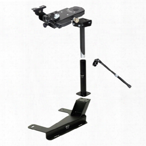 Gamber-johnson Pedestal Kit, Chevrolet Silverado/tahoe/suburban 07-current - Silver - Male - Included