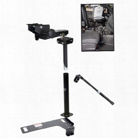 Gamber-johnson Pedestal Kit, Dodge Charger 2011-current - Male - Included