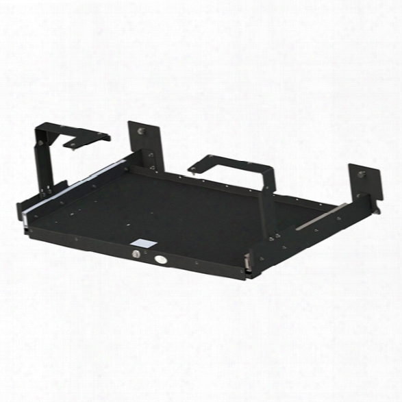 Gamber-johnson Trunk Shelf, Ford Interceptor Sedan 12-current - Black - Male - Included