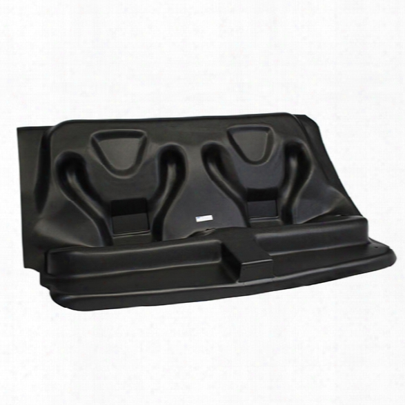 Go Rhino! Molded Rear Prisoner Seat W/ Factory Belt For 2012-2014 Dodge Charger - Unisex - Included