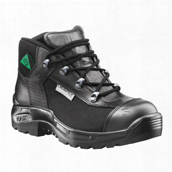 Haix Airpower R7 Station Boots, Black, 10.5m - Black - Male - Included