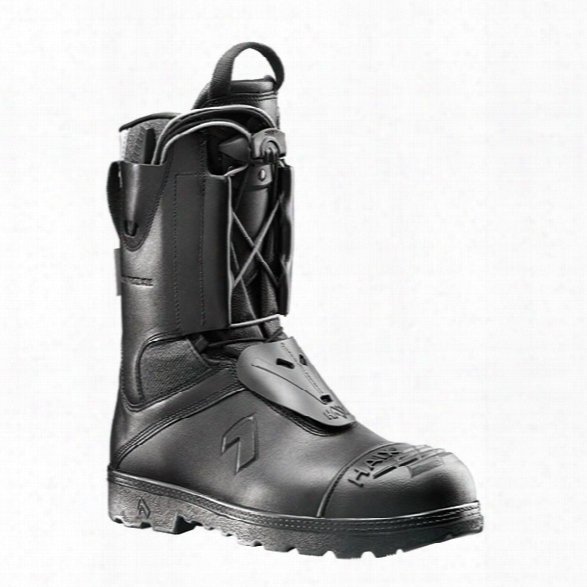 Haix Special Fighter Usar Fire Boots, Black, 10.5m - Black - Male - Included